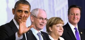 Обама и лидеры ЕС